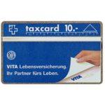 The Phonecard Shop: Switzerland, Vita Lebensversicherung - Vita-Parcours, 104F, 10 units