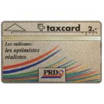 The Phonecard Shop: Switzerland, PRD (french text), 104F, 2 units