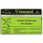 The Phonecard Shop: Switzerland, Von Ah und Malek - Ihr Gewinn, 106D, 5 units