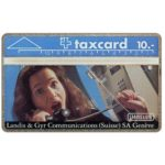 The Phonecard Shop: Landis & Gyr Communications (Suisse) SA, 106D, 5 units
