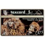 The Phonecard Shop: Switzerland, Musical Cats 2 (Serie 1), 112L, 5 units