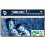 The Phonecard Shop: Switzerland, PAX Assurances, 208L, 5 units