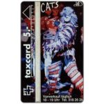 The Phonecard Shop: Switzerland, Musical Cats 2 (Serie 2), 211L, 5 units