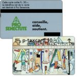 The Phonecard Shop: Pro Senectute (french text), 10 units