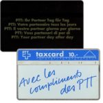 The Phonecard Shop: Avec les compliments des PTT, 003A, 10 units