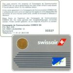 The Phonecard Shop: Switzerland, Comco - Card, Swissair