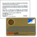 The Phonecard Shop: Comco - Card, Swisslex gold