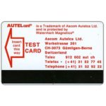 The Phonecard Shop: Autel card Test Card, red wordings