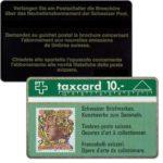 The Phonecard Shop: Switzerland, Swiss stamps, head, left side, 10 units, 108B, 10 units