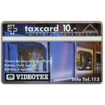 The Phonecard Shop: Switzerland, Videotex, 10 units