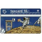 The Phonecard Shop: Switzerland, Phone Booth on The Moon, 10 units