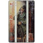 The Phonecard Shop: Switzerland, Clown Grock, 20 units