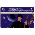 The Phonecard Shop: Switzerland, Chimney-sweeper, 10 units