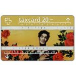 The Phonecard Shop: Man with roses, 20 units
