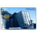 The Phonecard Shop: Switzerland, Architecture, Atelier Jacomet, Surrein, 10 CHF