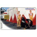 The Phonecard Shop: Switzerland, Valentina's Cirque, 10 CHF