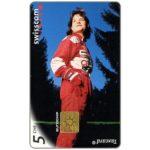 The Phonecard Shop: Switzerland, Femme turbo, 5 CHF