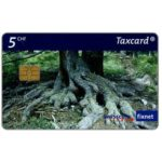 The Phonecard Shop: Pine forest, 5 CHF