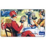 The Phonecard Shop: Switzerland, Vision of the videophone, around 1920, 5 CHF