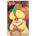 The Phonecard Shop: Aladdin, Sultan (Eurodisney card)