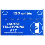 The Phonecard Shop: France, Definitive 4th series, code F5, 120 units