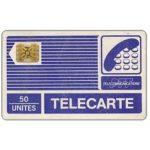 "The Phonecard Shop: France, Definitive ""Pyjamas"", chip SC-4ob with frame, 50 units"