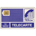 "The Phonecard Shop: Definitive ""Pyjamas"", logo France Telecom, chip SC-4ob with frame, 50 units"