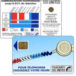 "The Phonecard Shop: Definitive ""Cordons Bleus"", text ""Regie Publicitaire: REGIE T"", chip SC-4on with frame, 120 units"