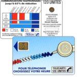 """The Phonecard Shop: France, Definitive """"Cordons Bleus"""", text """"Regie Publicitaire: REGIE T"""", chip SC-4on with frame, 120 units"""