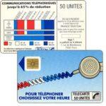 """The Phonecard Shop: France, Definitive """"Cordons Bleus"""", text """"Regie Publicitaire: REGIE T"""", chip SO2 with frame, 50 units"""