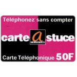 The Phonecard Shop: A Telecom - Carte Astuce, 50 F