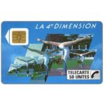 The Phonecard Shop: France, 4e Dimension Femmes, 50 units