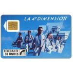 The Phonecard Shop: 4e Dimension Hommes, 50 units
