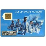 The Phonecard Shop: France, 4e Dimension Hommes, 120 units