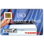 The Phonecard Shop: France, ISO Thomson, chip SO2, 50 units