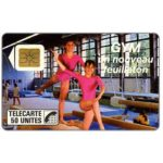 The Phonecard Shop: France, Gym FR3, 50 units