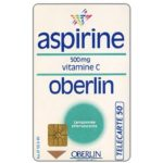 The Phonecard Shop: Oberlin Aspirine, 50 units
