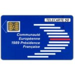 The Phonecard Shop: France, European Community, chip SC-4, 50 units