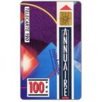 The Phonecard Shop: Centenaire de l'Annuaire, 120 units