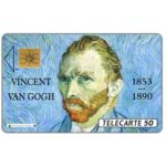 The Phonecard Shop: France, Van Gogh, chip SO2, 50 units