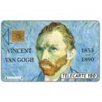 The Phonecard Shop: France, Van Gogh, chip SO2, 120 units