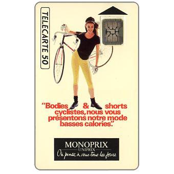 The Phonecard Shop: France, Monoprix, chip SC-4, 50 units