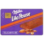 The Phonecard Shop: France, Milka Lila Pause, 50 units