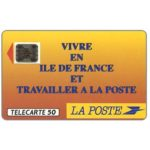 The Phonecard Shop: La Poste - Ile-de-France, chip SC-5an, 50 units