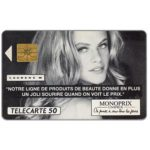 The Phonecard Shop: Monoprix, Laurene M, 50 units