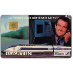 The Phonecard Shop: Telephone in TGV, chip SO3, 120 units