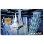 The Phonecard Shop: France, Disneyland - The World Chorus, chip SO3, 50 units