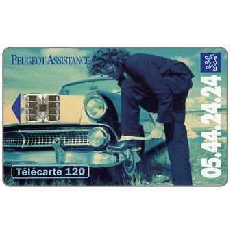 The Phonecard Shop: Peugeot Assistance 2, 120 units