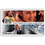 The Phonecard Shop: France Telecom, 02/96, 120 units