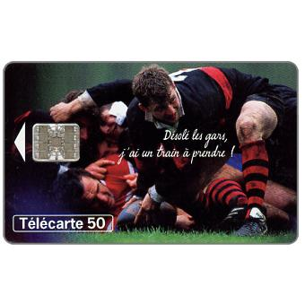 The Phonecard Shop: SNCF Toulouse Rugby, 50 units